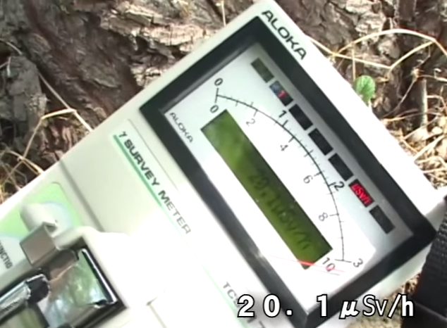 [Video] 20 μSv:h still detected in Fukushima city