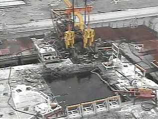 2 Tepco released the video and photos to remove debris from SFP 3