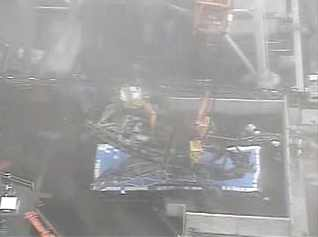 3 Tepco released the video and photos to remove debris from SFP 3