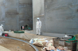 August's 3rd worker died in Fukushima plant after the work of retained contaminated water beside Reactor 1
