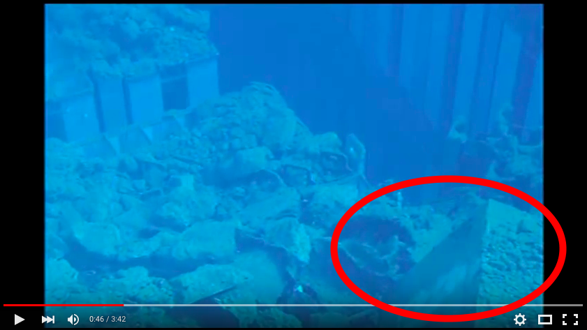 Video Tepco's new video shows there are more large debris on the deformed fuel assemblies