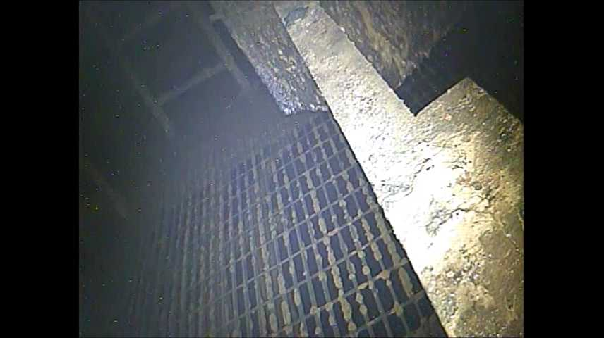 6 [Video] Tepco investigated the inside Reactor 3 vessel : 1 Sv:h, sediment accumulated
