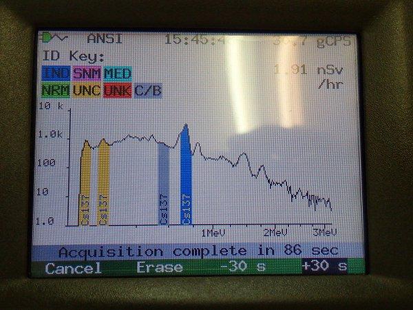 8 Photo 52,339 Bq:Kg of Cs-134:137 still measured from mushroom in Fukushima