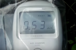 [Video] 0.53 μSv/h still measured beside a river in Kashiwa city Chiba