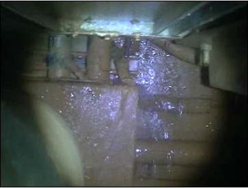 Photo Tepco reports groundwater stopped flowing into Reactor 1 at one of the ducts