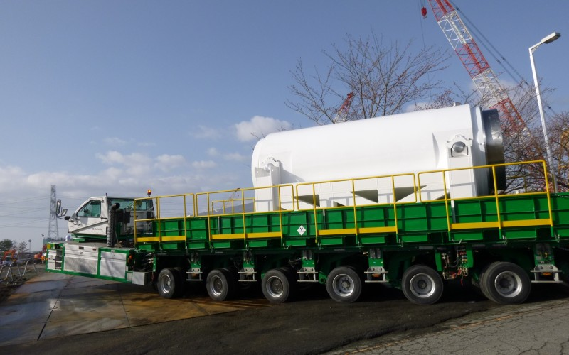 NRA announced the dry cask for spent fuel of Fukushima plant might be overly vulnerable