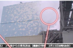 [Photo]Tepco admitted Reactor2, 3 directly released radioactive material to the air by 3.15.11/100Sv/h in PCV