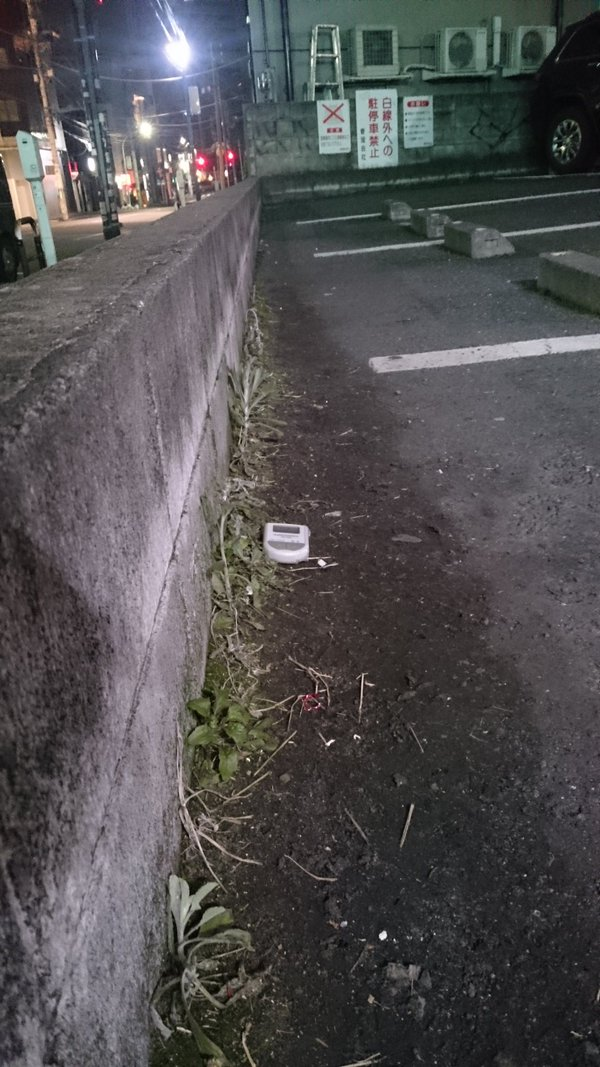 2 Photo Over 0.5 μSv:h detected from mud in Shibuya ward Tokyo