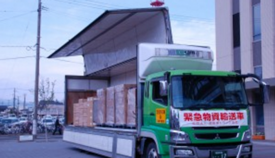 Fukushima city government donated 10,000 bottles of their tap water to Kumamoto city