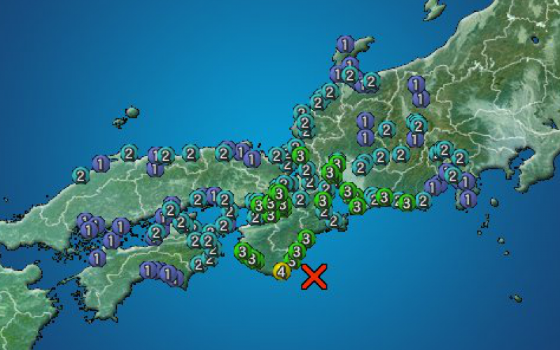 "M6.1 hit western Japan / JMA ""Connection with a potential great earthquake is not known"""