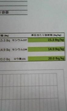 Iodine-131 measured from snow in Hachioji Saitama