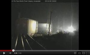 Steam from Fukushima plants