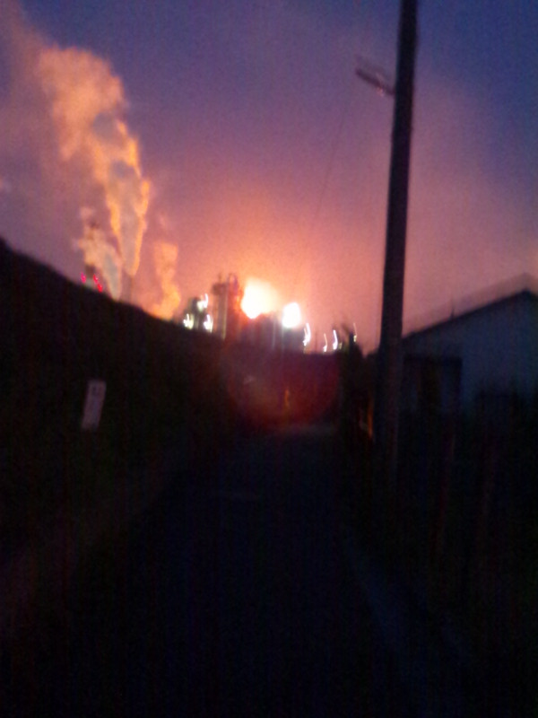 Chemical complex had second explosion and radiation measurement is impossible6