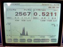 2567 Bq/kg from soil in Kashiwa 3