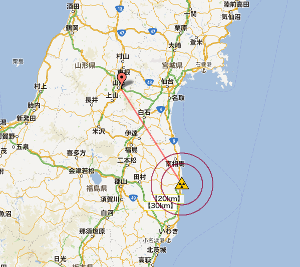 West coast of Japan 10 times more contaminated than mandatory evacuation zone in Belarus3
