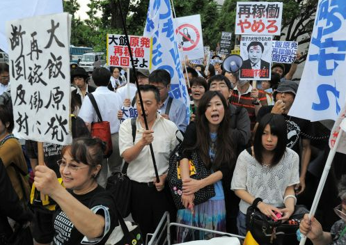 [Hydrangea revolution] 45,000 joined demonstration against the restart of Ohi nuclear plant 11