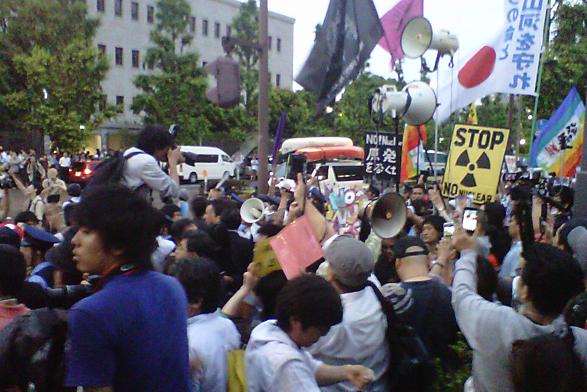 [Hydrangea revolution] 45,000 joined demonstration against the restart of Ohi nuclear plant 18