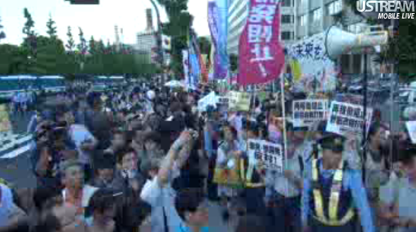 [Photos] Historical demonstration occupied official residence46