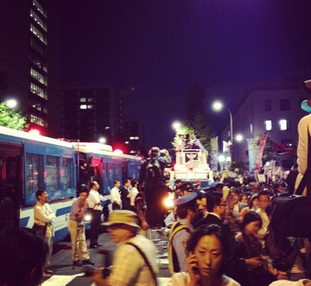 [Photos] Demonstration of 200,000 people occupied official residence53