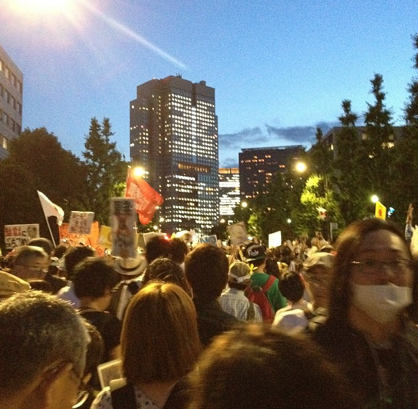 [Photos] Demonstration of 200,000 people occupied official residence55