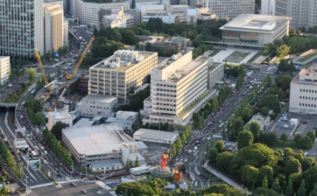 [Photos] Demonstration of 200,000 people occupied official residence81