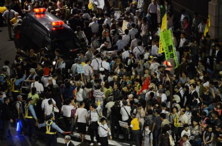[Photos] Demonstration of 200,000 people occupied official residence67