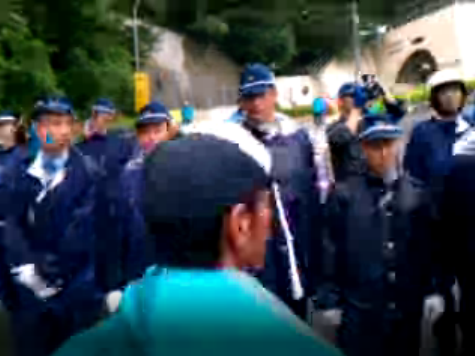 [Live] Citizens protesting against restart of Ohi nuclear plant all night - Limitless energy7