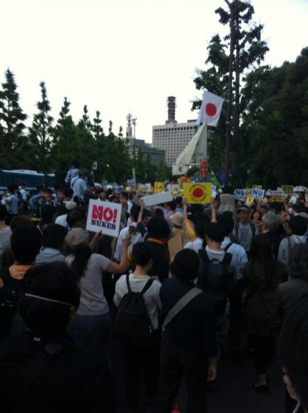 [Photos] Demonstration of 200,000 people occupied official residence50