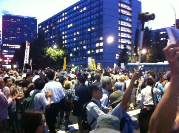 [Photos] Historical demonstration occupied official residence24