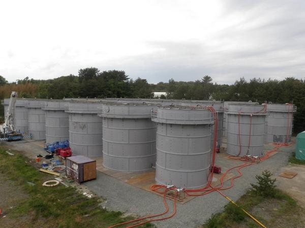 """[Express] """"Seismic stability of contaminated water storage tanks is questionable"""""""