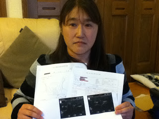 """[Fukushima children] """"Doctor couldn't count all the thyroid cysts of my daughter"""" 5"""