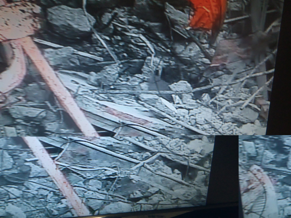Tepco crane picked up the skimmer surge tank hatch by mistake during debris removal of reactor3