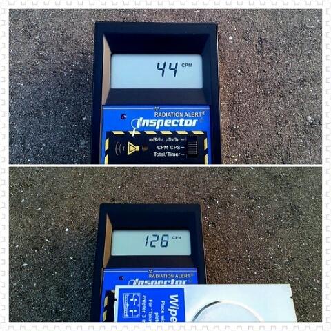 "3 Citizen's measurement, ""β dose is 2~10 times much as γ dose in Minamisoma Fukushima and Miyagi"""