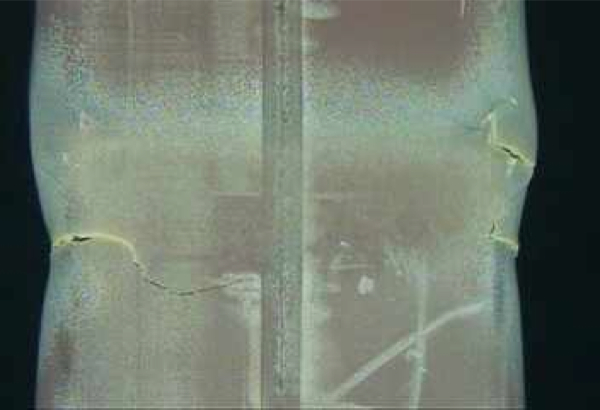 """3 cracks found in a channel box of reactor4 pool fuel / Tepco """"Not due to 311or fuel removal from the pool"""""""