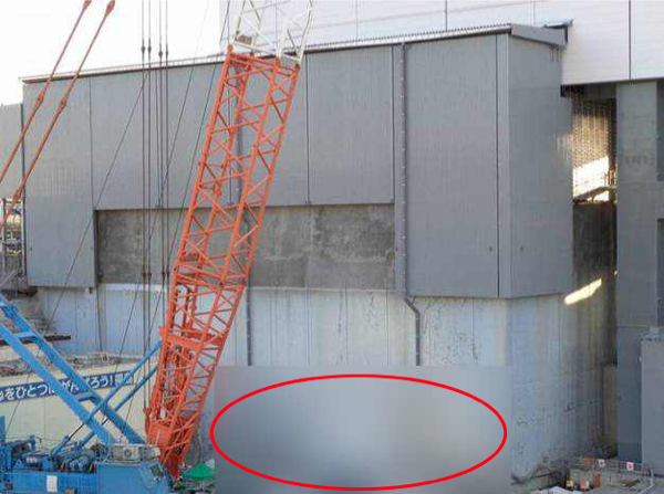 [Photo] Tepco conceals reactor4 picture again