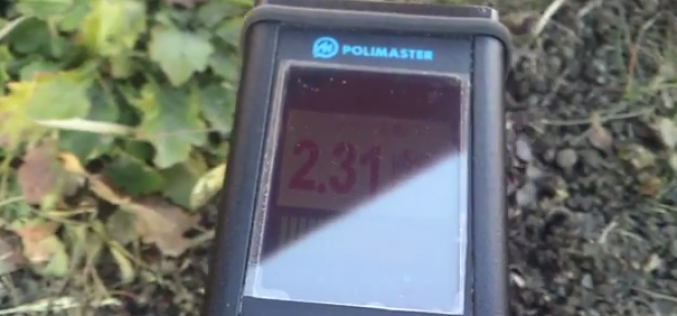 """Over 2.2 μSv/h in a park of Fukushima after """"decontamination"""" – Video"""