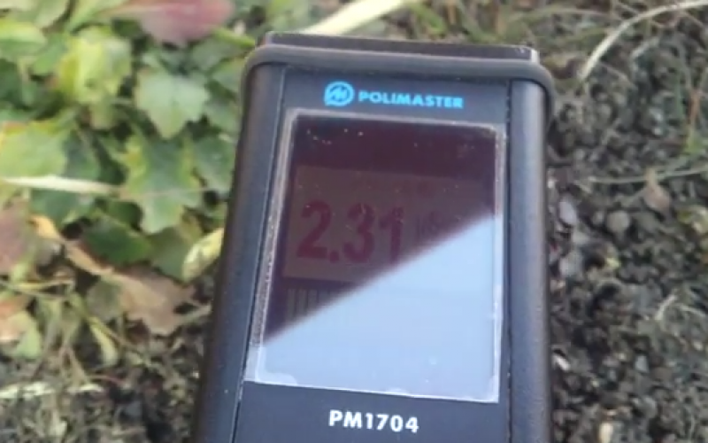 "Over 2.2 μSv/h in a park of Fukushima after ""decontamination"" – Video"