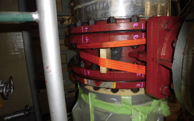Reactor 5 pool coolant system won't get back on until August
