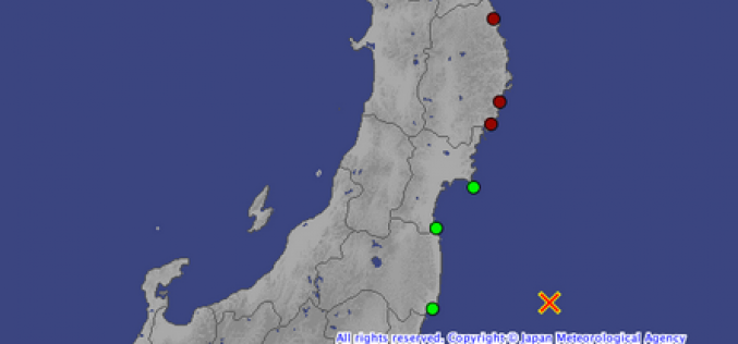 "Tepco ""No abnormality was reported after M6.8"" / No details are announced yet"