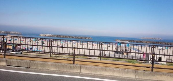 Fukushima swimming beach still popular – Photo