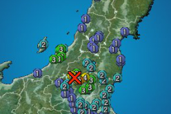 6 quakes hit Northern part of Tochigi within 50 mins after M5.2