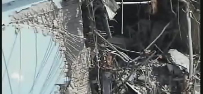"""13,440,000 Bq of Cs-134/137 found leaking in Reactor 4 building / Tepco """"This is not contaminated water"""""""