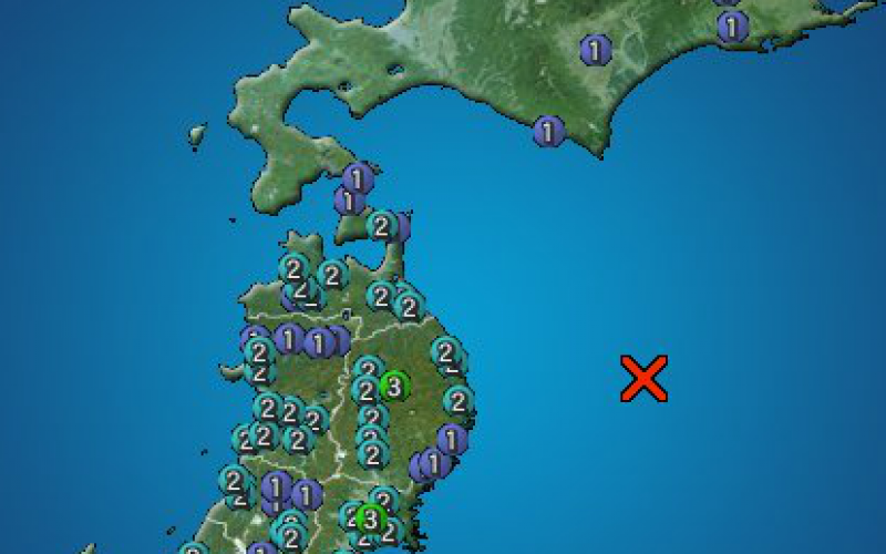 M6.1 hit North East Japan offshore again / No updates of Fukushima plant situation by Tepco