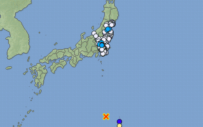 M6.9 and 5.3 occurred Ogasawara island offshore again / Epicenter depth was 480 km