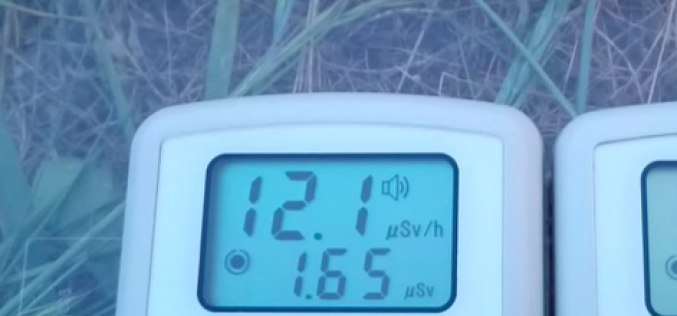 Still 12 μSv/h detected in Minamisoma city