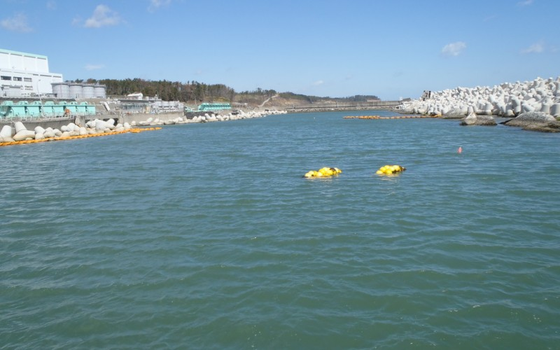 Highest Strontium-90 density detected in seawater of Fukushima plant port / 1,500,000 Bq/m3
