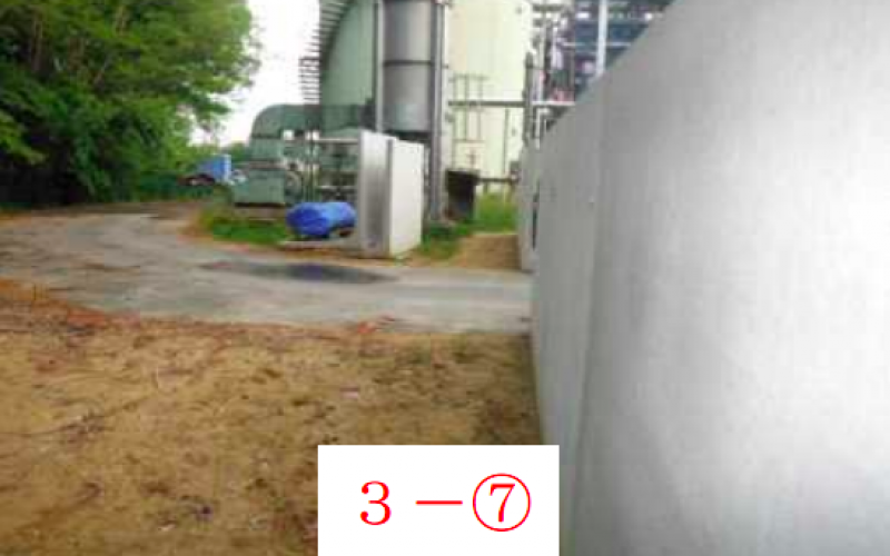 Melted slag storage facility of Fukushima sewage plant has 10 times higher atmospheric dose than rest of area