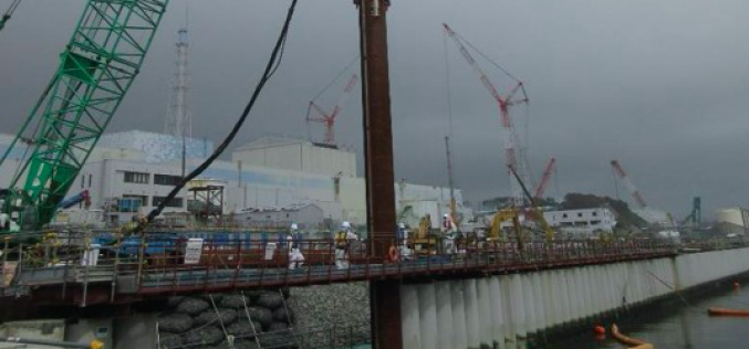 Sr-90 density rose up 155 percent of the previous highest reading in the seaside of Reactor 2