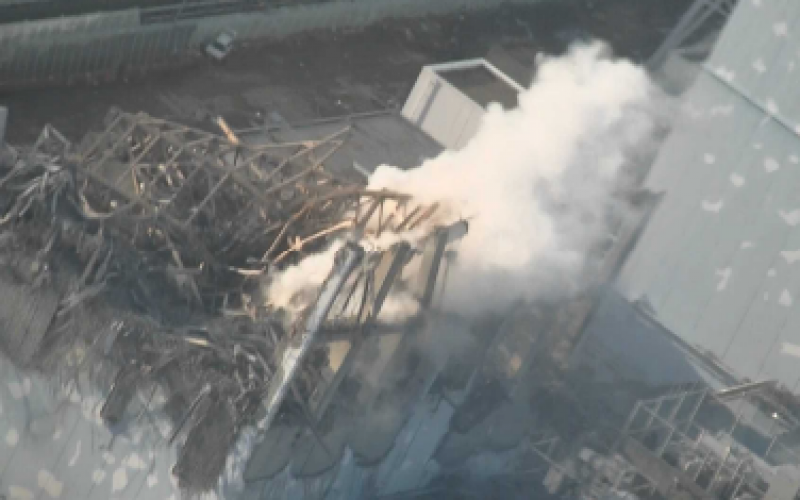 Tepco admitted they observed black smoke twice from Reactor 3 late March 2011